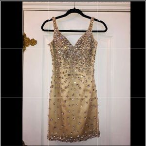 Jovani rhinestone dress